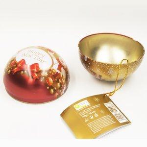 ball tin box1 300x300 - Custom Small Metal Ball Empty Tin Can For Chocolate Storage