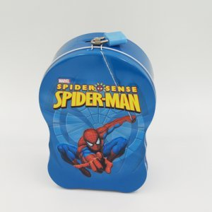 spider man handle box 3 300x300 - Custom Metal Storage Box With Lock For Gifts Packaging Ideas