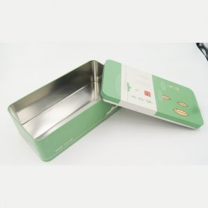 DSC05703 300x300 - Rectangular Metal Tin Storage Containers for Tea and Coffee Packaging